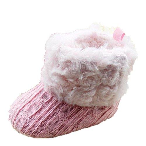 Tefamore Zapatos Botas de nieve Bebe de Antideslizante de Suave Zapatilla de...