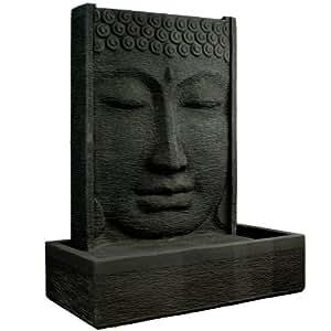 Wuona Objects Buddha Brunnen 125 cm Stein Balinesisches Wasserspiel