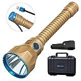OLIGHT JAVELOT PRO Wiederaufladbare Taschenlampe 2100 Lumen Leistungsstarke LED Taschenlampen Reichweite bis zu 1080 Meter, 4 Beleuchtungsmodi, Komplettes Flashlight Zubehör