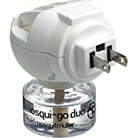Go Travel Mosqui Go Duo Trans Cont 120V 7W Electric Mosquito Killer System. Complete with 1 Bottle