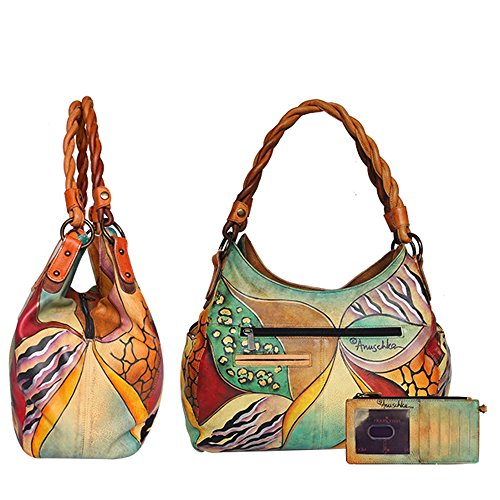 AnUSCHKA , Damen Tote-Tasche Mehrfarbig Mehrfarbig Sunflower Safari