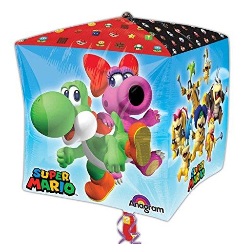 amscan 320120115x 15Zoll Super Mario Bros Cubes Deko-Set