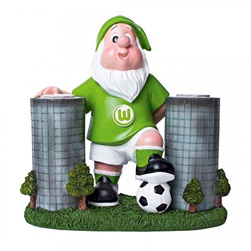 """VfL Wolfsburg Gartenzwerg """"Autotürme"""""""