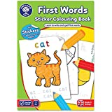Orchard Toys First Words Sticker Colouring Book