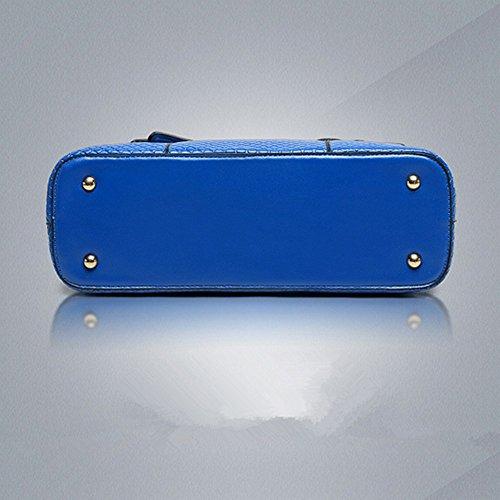 Eysee, Borsa tote donna rosso Blue 33cm*25cm*11cm giallo
