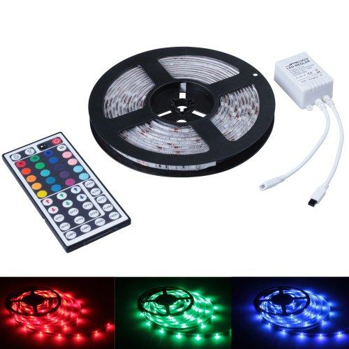Jago strf5m-3528nd/OT44mit bunten LED-Lichtern Streifen-5Meter-mit Fernbedienung 44-Optionen -