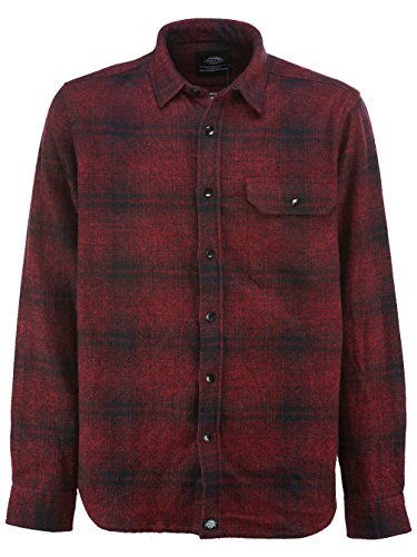 Dickies Ivyland, Camicia Uomo Red
