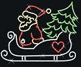 Scharnberger + has. LED–weihnachtsm. slitta 57870non semovibile fisso illuminazione 4034451578708