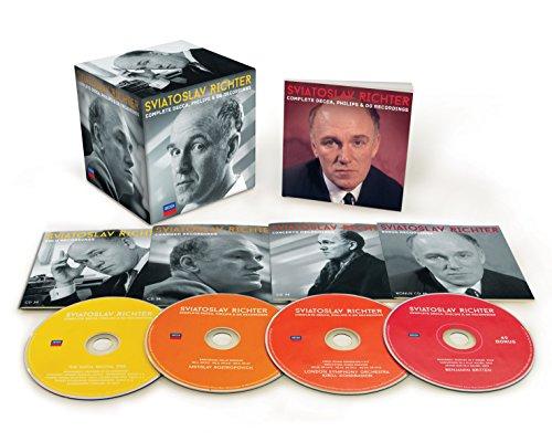 Sviatoslav Richter: Complete Decca, Philips & DG Recordings (Coffret 51 CD)