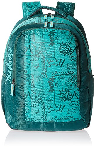 Skybags Helix 29.5 Ltrs Green Casual Backpack (BPHELFS2GRN)