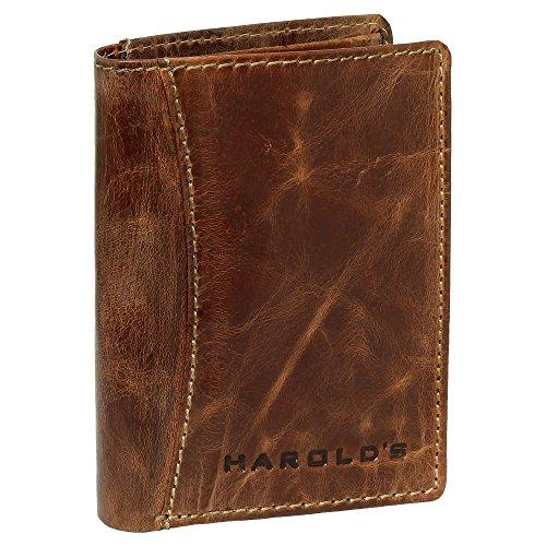HAROLD'S Herren Geldbörse Portemonnaie Geldbeutel Rindleder (Geldbörse Rindleder Herren)