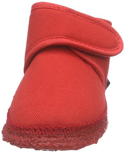 Nanga - Luna, Scarpine primi passi Bimba 0-24 Rosso (Rot (20))
