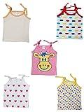 #2: Little Stars Baby-Girls' Jablas- Pack of 5 (PO5IGS_004_L, Multi-Coloured, 12-18 Months)