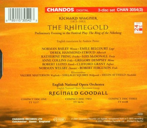 Image of Wagner: The Rhinegold