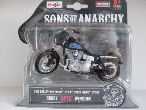 maisto-118-harley-davidson-sons-of-anarchy-opie-winstons-2001-super-glide