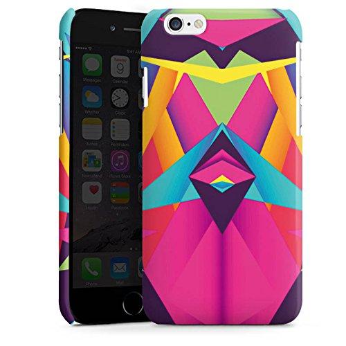 Apple iPhone 5 Housse étui coque protection Couleurs sympas Triangles Triangles Cas Premium brillant