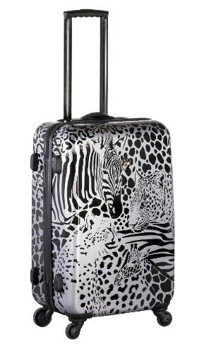 ... 50% SALE ... PREMIUM DESIGNER Hartschalen Koffer - Heys Core Serengeti Metallic Silber - Handgepäck Metallic Silber