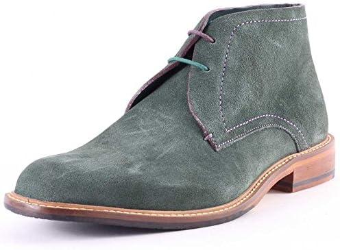 Ted Baker Zapato Abotinado Caballero Linnus Dk Verde