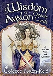 The Wisdom of Avalon Oracle Cards a 52-Card Deck and Guidebook