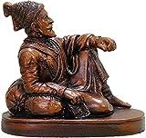 Shobha Sanskruti Shivaji Maharaj Statue (Copper Color)