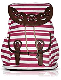 Bellissimo Stylish Ladies Backpacks Handbags(Pink)