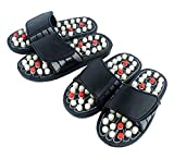 M.S.ENTERPRISEAcupressure Health Care India Foot Massager Jade Stone Acupoint Massage Slippers for Men and Women