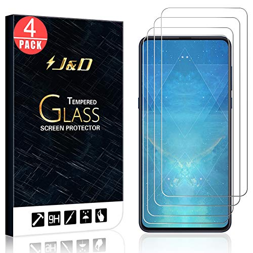 JD 4 Compatible packages for Xiaomi Mi Mix 3 Screen saver, [Tempered glass] [NO Complete Coverage] HD Clear Glass Screen Protector Xiaomi Mi Mix 3 - [Not for Xiaomi Mi MAX 3]