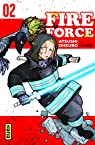 Fire force, tome 2 par Okubo