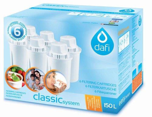 DAFI Standard Wasser Filter, Mehrfarbig, 30x 30x 30cm