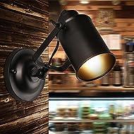 Descripción: * Lámparas de pared retro industriales de la pared Lámpara de pared del pasillo del pasillo (el bulbo no está incluido) * Brillante al pasillo y pasillo * Material: Metal y pintura de alta calidad Piezas: chapa metálica de luz y techo * ...
