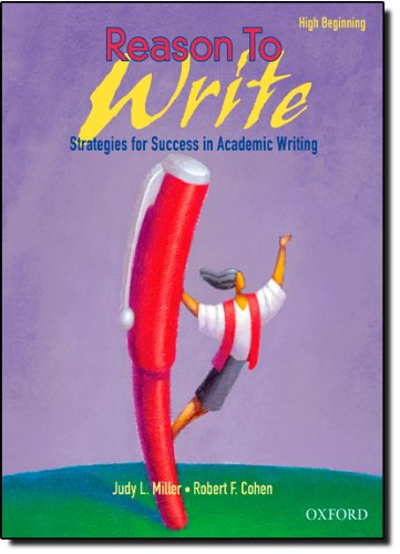 Reason To Write: High Beginner: Student Book