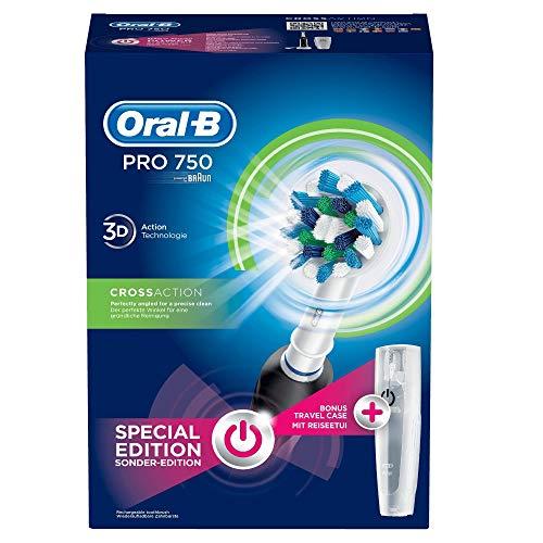 Oral-B Pro 750 CrossAction Elektrische Zahnbürste mit Reiseetui - 7