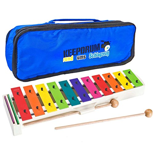Sonor BWG Boomwhackers Glockenspiel + keepdrum MB01 Tasche Bag