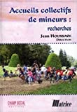 Accueils collectifs de mineurs : recherches...