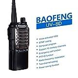 Youngsown BAOFENG BF-UV8D Ricetrasmittente 8W Dual Launch Senza Fili Handheld Citofono Lungo Raggio Portatile Radio Communicator