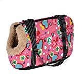 Classic Pet Carrier For Small Dogs Cozy Soft Puppy Cat Dog Bags Backpack Outdoor Travel Pet Sling Bag Chihuahua Pug Pet SuppliesType:DogsItem Type:SlingsStyle:ClassicsPattern:PrintApplicable Dog Breed:Small DogSeason:All SeasonsFitable Weight:less th...