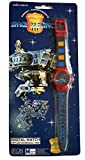 Gerry Andersons Vintage 1995 Zeon Quartz Space Precinct 2040 Digital Watch With Lifting Lid - Brand New Shop Stock Room Find