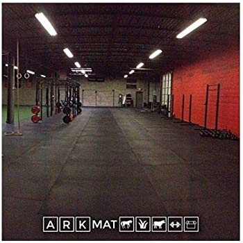 Heavy duty mm solid rubber gym mat ft m
