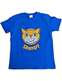 Girls Boys Unisex Stampy Cat Unisex T-shirt You Tuber StampyLongNose Youtube Tee FACE