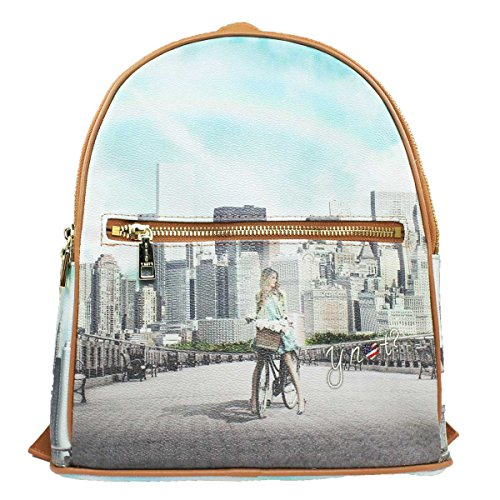 ZAINO MEDIUM DONNA Y NOT? BACKPACK BIG APPLE YES BAG J-382