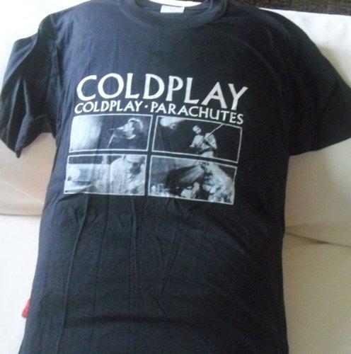Preisvergleich Produktbild Coldplay Parachutes Shirt Größe XL