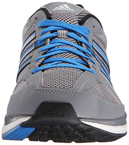 Adidas Performance zéro Bounce M Running Shoe, noir / or métallique / blanc, 6 M Us Grey/Shock Blue/Black