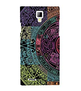 EPICCASE mayan Mobile Back Case Cover For Micromax Canvas Xpress A99 (Designer Case)