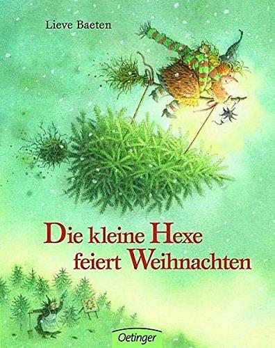 Die kleine Hexe feiert Weihnachten. Pappbilderbuch