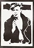 David Bowie Handmade Street Art - Artwork - Poster