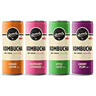 Remedy Kombucha Mixed Can Case (4 Brilliant Flavours) 12 x 250ml * Launch Offer *