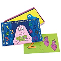 Barbo Toys 4444 Barba Toys 20 Pieces Barbapapa Count Learning Game Puzzels, Multi-Color
