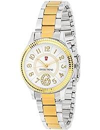 Swiss Trend Marvelous Steel Gold Colour Women's Wrist Watch