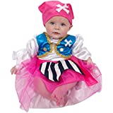 Adorable Baby / Toddler Pirate Girl Costume - Luxury Handmade Toddler Fancy Dress Costume (0 - 24 months) Lucy Locket