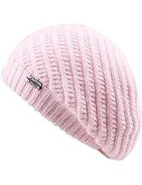 FURTALK Sombreros de boina francesa para mujeres Sombrero de lana de punto  angora 3d09f36ff19